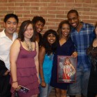 Shereen Daniels, a Passions fan, put a group together in DC & came out to support the show.